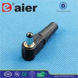 2.1 X 5.5mm Black Color Male DC Plug