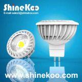 Aluminium GU10 MR16 5W LED Spotlight (SUN10-MR16-5W-A)