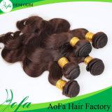 Brazilian Brown Charming Human Virgin Hair Weaving
