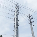 Q345 Hot DIP Galvanized Transmission and Distribution Poles