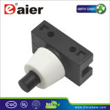 Inline Self-Locking Push Button Switch, Table Lamp Switch (PBS-17A)