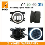 30W Angel Eye 4′′ LED Fog Light for Jeep Dodge