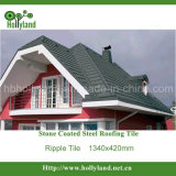 Stone Coated Steel Roofing Tile (Ripple Design)