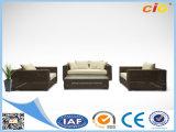 New Brown Convertible Sofa Rattan Wicker