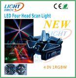 4X12W CREE Quad Beam Scan LED Moving Head Light