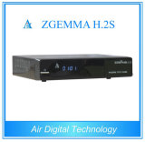 Youtube Hbbtv Box Hot DVB-S2/S Twin Tuner Dual Core CPU Zgemma H. 2s Support Paypal