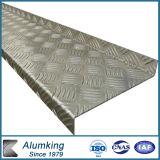 AA5052 AA5083 Aluminium Checkered Plate