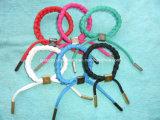 Customized Colorful Lace Braided Bracelet