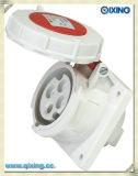 3 Phase Socket Wall Mounted Electrical Plugs (QX222)