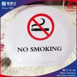 Costom Acrylic Desk Top No Smoking Warning Sign Wholesale