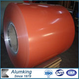 1000 Mm Width A45 Orange Color Coated Aluminum Coil