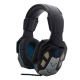 USB Gaming Headset with LED Light for PS4