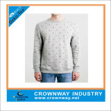 Wholesale 100% Cotton Crewneck Sweatshirt for Mens