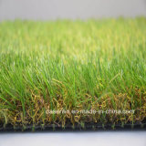 Natural Green Artificial Grass Commercial Use Synthetic Turf (LS)
