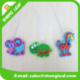 Lovely Convenient Brand PVC Rubber Luggage Tag (SLF-LT049)