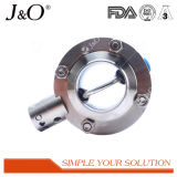 Sanitary Stainless Steel Pull Handle Welding Butterfly Valve
