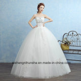 Sweetheart Princess Fashion Inexpensive Wedding Dress