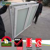 Double Sash PVC Casement Windows for Bathroom