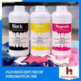 Dispersed Fluroscent Dye Sublimation Ink for Sportwears/Fluorence Yellow & Magenta J Teck Dye Sublimation Neon Ink for Surecolor F6070/F7070/Mimaki/Roland/Epson