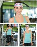 Wholesale Wide Polyester Spandex Print Yoga Sports Headbands