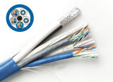 UL1666, CE, RoHS Rated Bundled Cable (2RG6+2CAT6+1CAT5E)