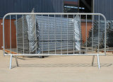 V Type Foot Hot DIP Galvanized Crowd Barrier
