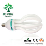 Halo Powder T4 85W 3000h Flower Shaped CE/RoHS High Efficiency Lotus Energy Save CFL Light (CFLHLT53Kh)