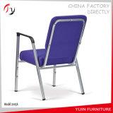 Armrest Style Blue Attachable Auditorium Seating (JC-105)