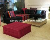 Classical Style Fabric Seat Sofa Furniture (LS-103)