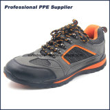 Rubber Outsole PU Leather Lightweight Safety Footwear