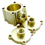 Custom Machining Service Brass Turned Part for Automation / Electronic Equipment