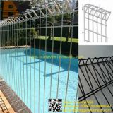 Powder Coated Roll Top Mesh Brc Fencing