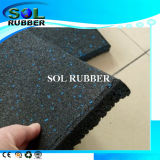 Fire Resistance High Quality Gym Rubber Flooring,