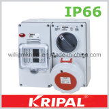 Waterproof Combination Switched Socket