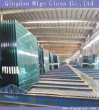 3-19mm Wholesale Glass, Clear Float Flat/Curved Tempered Glass Panel