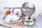 Stainless Steel Gift Cookware Settings in Kitchen House (SX-CS09)