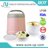 Plastic Vacuum Thermos Food Container with Glass Liner (CGUB)