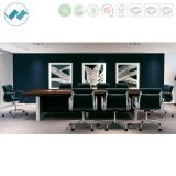 Modern Office Conference Table with Stainless Steel Frame (grace-mt35)