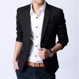 Men's OEM Branded Fashion Suit Jacket in Black