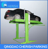 Home Garage 2 Post Car Parking Lift with Good Quality