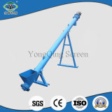 Inclined Tube Auger Conveyor for Feeding Grain Silo
