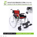 New Light Foldable Aluminum Alloy Manual Wheelchair