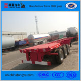 China Trailer Manufacturers Tongya Skeleton Container Truck Trailer