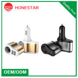 Car Cigar Adapter with Dual USB Charger for Mobile Phone