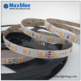 112LEDs/M DC24V SMD5630 Bicolor LED Strip Light