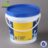 Mini 2L Plastic Bucket and Pail with Handle and Lid