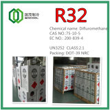 Refrigerant Gas R32 with DOT-39 Non-Refillable Steel Cylinder