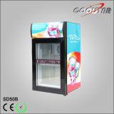 Tabletop Ice Cream Freezing Showcase with Brand Lightbox