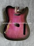 Custom Quality Semi Hollow Tele Guitar Body