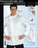 Factory Wholesale Chef Uniform of White Colour --Chef Jacket--Ptsh-CH09
